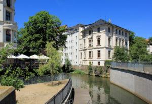 Die italienische Villa am Elstermühlgraben