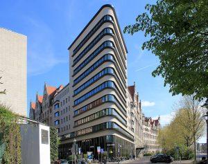 Moderne Architektur am Promenadenring - das Triashaus