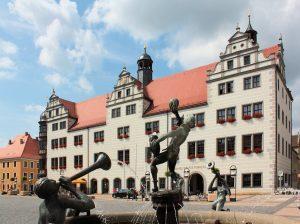 Rathaus Torgau im Landkreis Nordsachsen