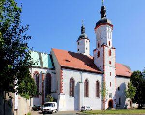 Der Dom St. Marien zu Wurzen im Landkreis Leipzig