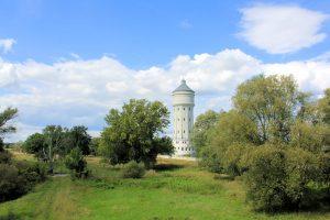 Wasserturm an der Mulde bei Eilenburg
