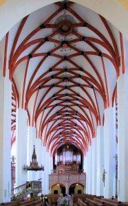 Schiff der Thomaskirche zu Leipzig