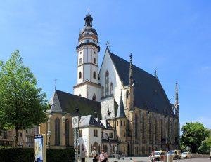 Nordseite der Thomaskirche zu Leipzig