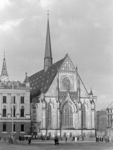 Paulinerkirche 1948