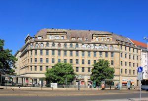 Das Hotel Astoria in der Leipziger Innenstadt