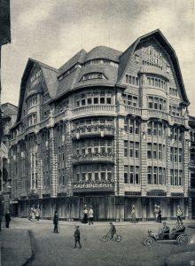 Das Kaufhaus Brühl 1908