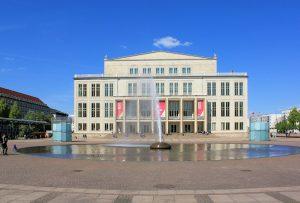 Opernhaus am Leipziger Augustusplatz