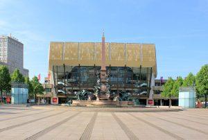 Das Gewandhaus zu Leipzig am Augustusplatz