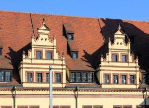 Altes Rathaus Leipzig, Zwerchhäuser