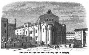 Die Große Synagoge in Leipzig