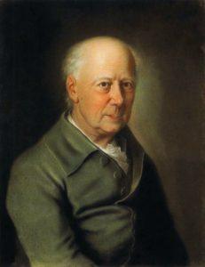 Adam Friedrich Oeser, Pastell von Nicolaus Lauer, 1791, Gleimhaus Halberstadt