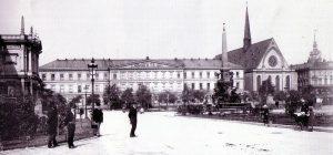 Universität und Paulinerkirche um 1890