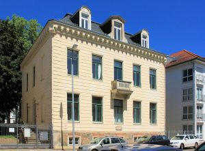 Wohnhaus von Gustav Mahler im Waldstraßenviertel in Leipzig
