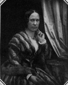 Bertha Wehnert-Beckmann, Selbstportrait um 1850