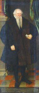 Hieronymus Lotter in der Tracht eines Leipziger Ratsherren