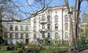 Villa von Bertha Wehnert-Beckmann in der Elsterstraße in Leipzig