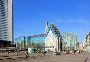 Augustusplatz Leipzig mit Universität