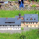 Modell des Hotels Saigerhütte