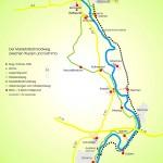 Mulderadweg und Muldetalbahnradweg zwischen Grimma und Wurzen