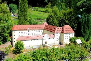 Modell des Schlosses Freudenstein in Freiberg