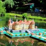 Modell des Jagdschlosses Moritzburg bei Dresden