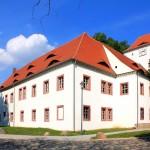 Schloss Altranstädt, Ansicht von Südwesten