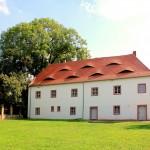 Schloss Altranstädt, Ansicht von Norden