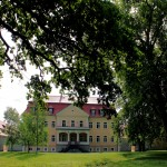 Schloss Ammelshain, Parkseite
