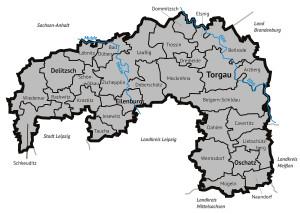 Gemeindegliederung Landkreis Nordsachsen