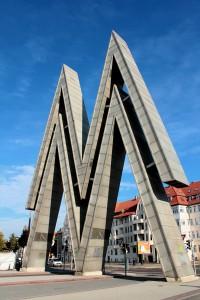 Das Doppel-M - Symbol der Leipziger Messe