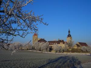 Burg Querfurt im Winter