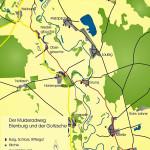 Mulderadweg zwischen Eilenburg und Bad Düben