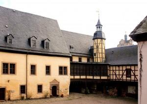 Burg Allstedt, Burghof