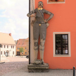 Rathaus Belgern, Roland
