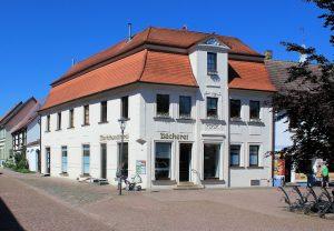 Wohn- und Geschäftshaus Markt 11 Brehna