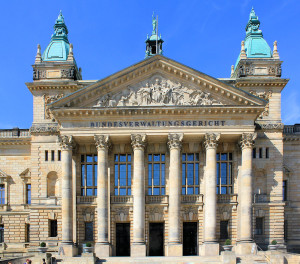 Bundesverwaltungsgericht Leipzig, Portikus