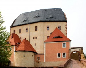 Burg Mildenstein, Vorburg