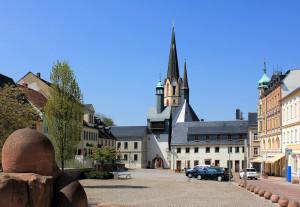 Seigerturm Burgstädt, Marktseite