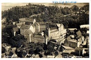 Schloss Colditz, Postkarte um 1940