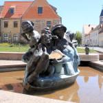 Schildbürgerbrunnen in Schildau