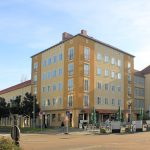 Wohnbebauung Zerbster Straße / Markt Dessau, Kopfbau
