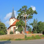 Ev. Pfarrkirche in Dreiskau-Muckern