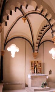 Die Elisabethkapelle in der Neuenburg bei Freyburg/Unstrut