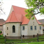 Die Kirche in Dehlitz/Saale