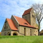 Die romanische Wehrkirche in Meuchen