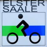 Logo des Elster-Saale-Radweges