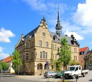 Das Rathaus in Lützen