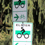 Logo des Elsterradweges