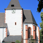 An der Kirche in Frankenhain