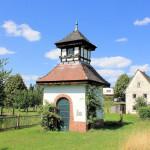 Historisches Trafohäuschen in Frankenhain